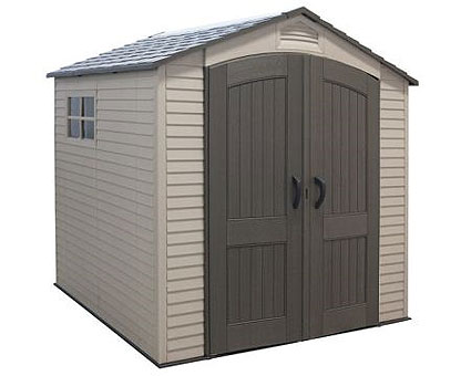 Lifetime 7' x 7' Storage Shed-Basic Package w/ FREE Skylight